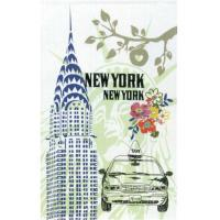 China New York Tea Towel on sale