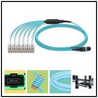 Quality MTP Female to 6 LC UPC Duplex 12 to 144 Fibers MTP MPO Fiber Breakout Cable wholesale