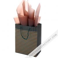 China Paper Bags Gift Bags Brown Paper Bag with Handles Shopping Merchandise Party Gift Bags on sale