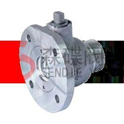Cheap Discharge ball valve for sale