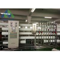 China Mobile Water Desalination Unit , Reverse Osmosis Fresh Water Maker 3-11 Feed PH on sale
