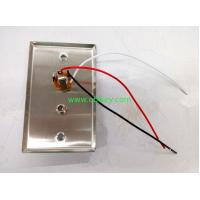 China Healthcare Stainless wall plate with 1/4 and coax socket on sale