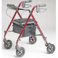 Buy cheap Rollator Burgundy By Medline from wholesalers