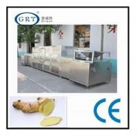 China Industrial microwave ginger dryer machine/onion drying machine on sale