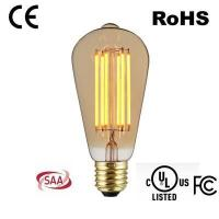 Quality 6w ST64/A22 LONG VERTICAL FILAMENT BULBS wholesale