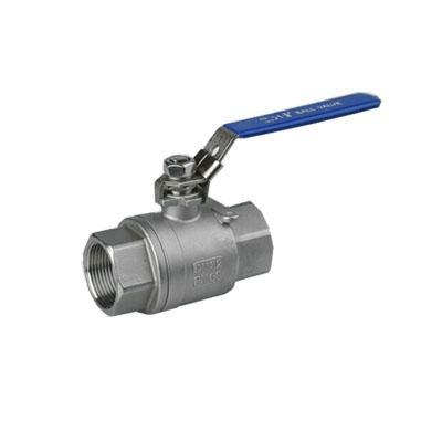 Cheap Stainless Steel Threaded 2PC Ball Valve with Lock Device for sale