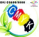 China OKI C9600/9800/9650/9850 toner powder on sale