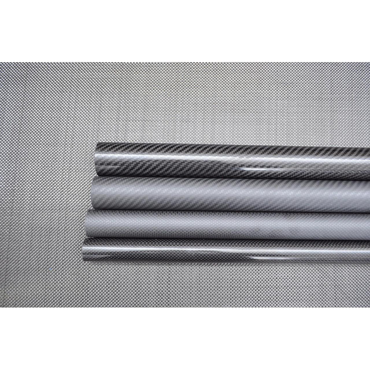 Buy cheap Carbon Fiber Tube Fabric Weave Carbon Tube from wholesalers