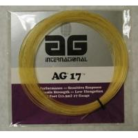 China AG 17 Synthetic Gut Tennis String Set-Gold on sale