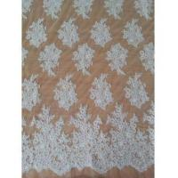 Buy cheap Bridal Lace Fabric Wedding Lace Embroidery Lace Fabric Embroidered W9012 By The Yard (W9012) from wholesalers