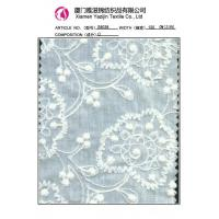 China Chemical Lace Fabric Beautiful Cotton Embroidered Lace Fabric (S8038) on sale