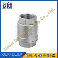 China Manual low pressure air check valve threaded, check valve for gas on sale