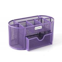 Buy cheap Black Mesh Collection Office Desk Supplies Organizer Caddy from wholesalers