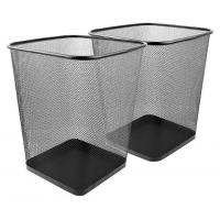 Buy cheap Steel Mesh Lightweight Durable Square Office Home Waste Basket from wholesalers