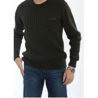 Men's Winter Casual Round Neck Cotton Sweater   Basic Pullover Sweater