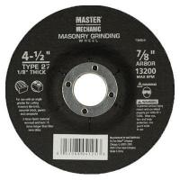 Buy cheap Arbor Masonry Depressed Center Cutting Wheel, 4.5 x 0.125 x 7/8-In. - Pack of 10 from wholesalers