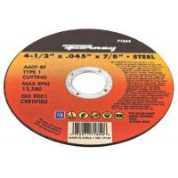 Buy cheap Cutting Wheel, Type 1, 4.5 x .045-In. from wholesalers
