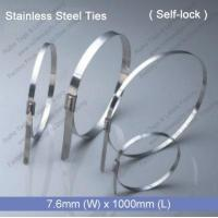 Buy cheap E1285 Stainless Steel Tie (7.6mm x 1000mm) from wholesalers