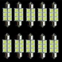 Buy cheap 39mm Festoon 5050 SMD 6 LED C5W Car Led Auto Interior Dome Door Light Lamp Bulb from wholesalers