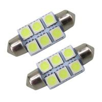 Buy cheap 36mm Festoon 5050 SMD 6 LED C5W Car Led Auto Interior Dome Door Light Lamp Bulb from wholesalers