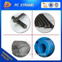 Cheap DCL certification prestressed concrete steel strand for sale
