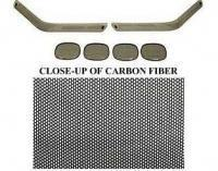 Cheap BLACK OUT KIT-FRONT AND REAR-CARBON FIBER-91-96 for sale
