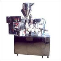Cheap Semi Automatic Rotary Medium Speed Tube Filler for sale