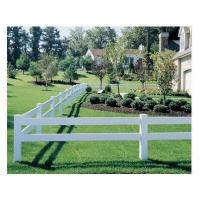China 2 Rails PVC Horse Fence on sale