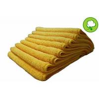 """A&H-48 PACK 16""""X16"""" YELLOW GOLD PLUSH THICK MICROFIBER DETAILING TOWELS"""