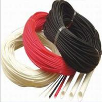 Quality Silicon Rubber Fiberglass (Fiber Inside and Rubber Outside) Sleeving wholesale