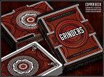 Quality Grinders Copper Playing Cards Deck wholesale