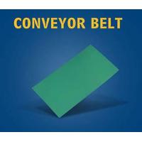 Buy cheap Green rubber flat belt from wholesalers