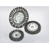 Quality Twisted wire wheel brushTwisted wire wheel brush wholesale