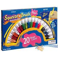 Quality Squeeze N Brush Childrens Non Toxic Washable 2 in 1 Paint Tubes Art Craft Set from MTS wholesale