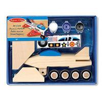 China Melissa & Doug Decorate-Your-Own Wooden Jet Plane Craft Kit from Melissa&Doug on sale