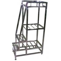 Quality Stainless steel step ladder wholesale