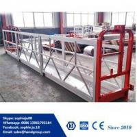 Quality Suspended Platform ZLP 630 ZLP 500 Rope Suspended Platform Electric Swing Stage wholesale