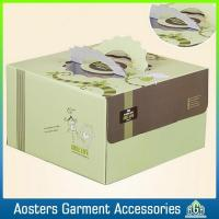 China Custom Corrugated Paper Delicate High Quality Tall Cake Box on sale