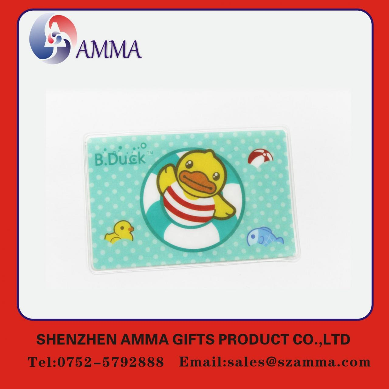 Quality Soft plastic ID card holder wholesale