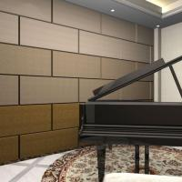 China Soundproofing Factory Price Acoustic Treatment Panels For Piano Room Walls on sale