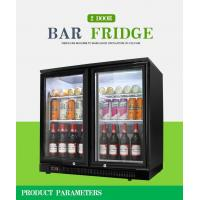 China 2 Doors Counter Top Beer Fridge For Pub on sale
