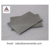 Buy cheap ASTM F136 Gr5 Medical Titanium Plate from wholesalers