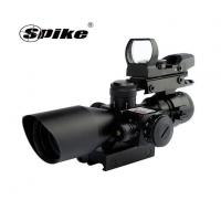 Quality Optics 2.5-10X40 Hunting Riflescopes With Red Laser Pointer Sight+HD101 Red Dot Reflex Sight Scope wholesale