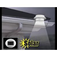 Quality White Solar Powered 3 LED Outdoor Lights Fence Roof Yard Wall Garden (Ni-MH Battery Included) wholesale