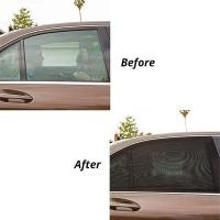Buy cheap SET OF 2 UNIVERSAL FIT CAR REAR WINDOW SUN SHADES from wholesalers