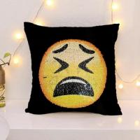 Buy cheap Reversible Sequin Emoji Cushion Covers Dropshipping from China from wholesalers