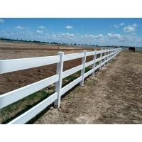China PVC Horse Fence Rails Fence on sale