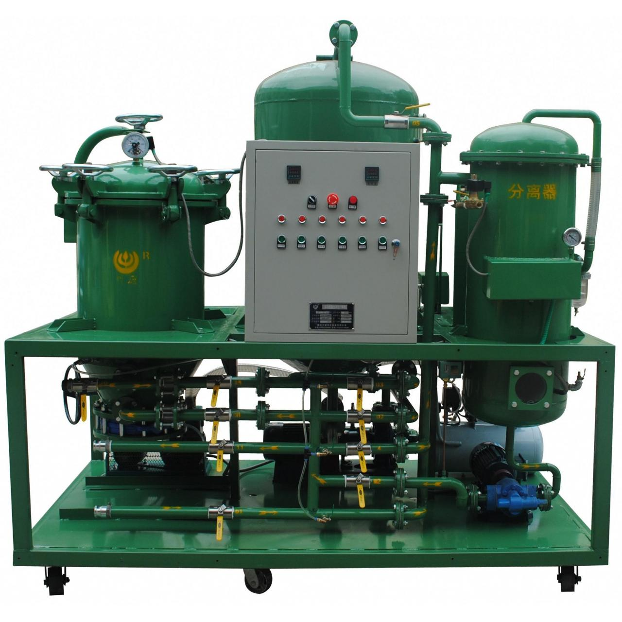 DTS multi-functional used oil purification equipment