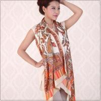 Buy cheap Fashion Scarves High Quality Multi Colors Fashion Silk Scarves for Women Model: SFSNQFDZ001 from wholesalers