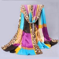 Buy cheap Fashion Scarves New Designed Multi Colors Fashion Silk Scarves for Sale Model: SFSNQFDZ003 from wholesalers